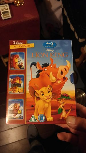 The lion king 3 disc bluray set for Sale in Las Vegas, NV