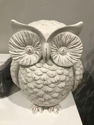 White owl decor for Sale in Fairfax, VA