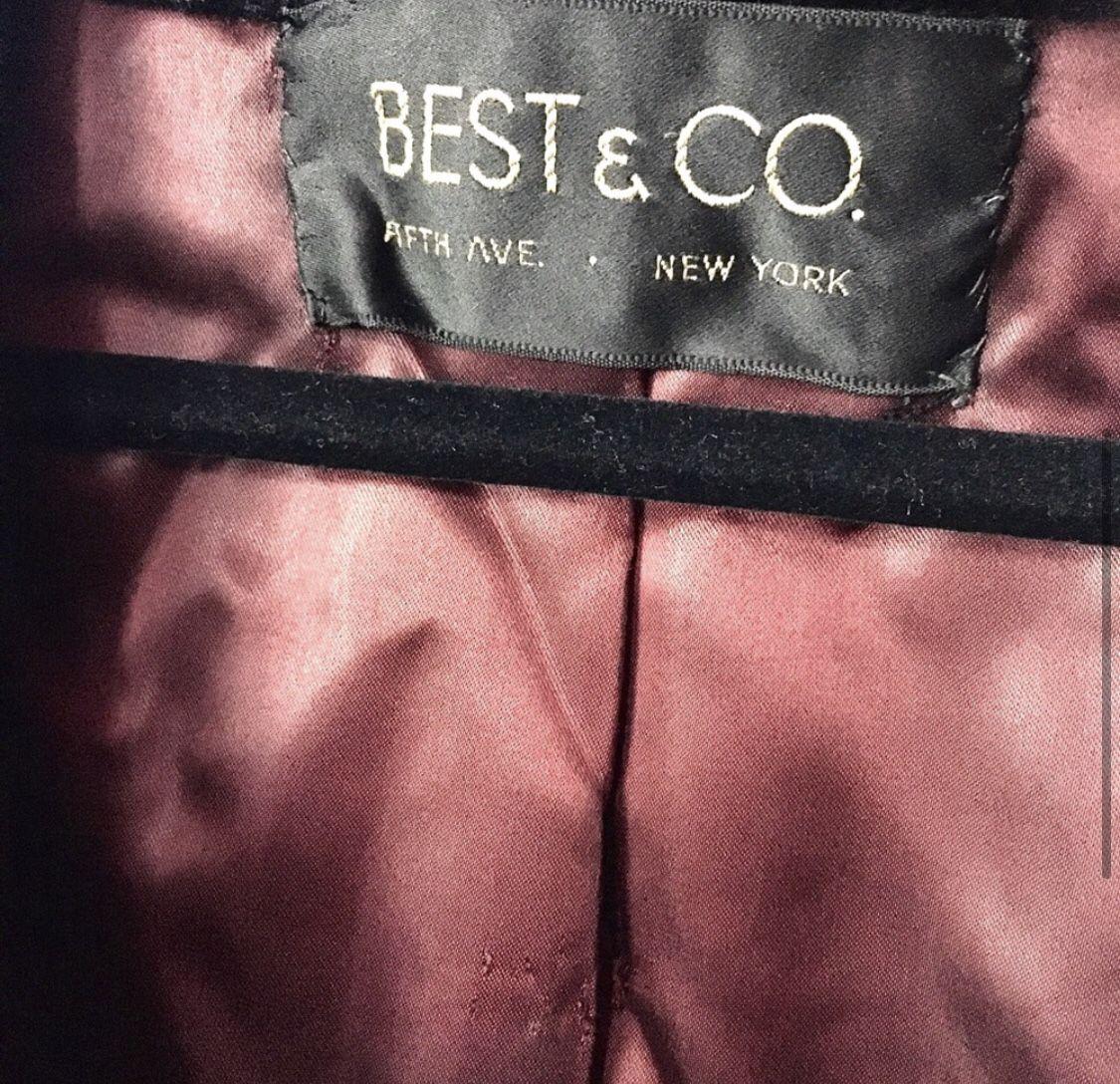Vintage Best & Co Coat.