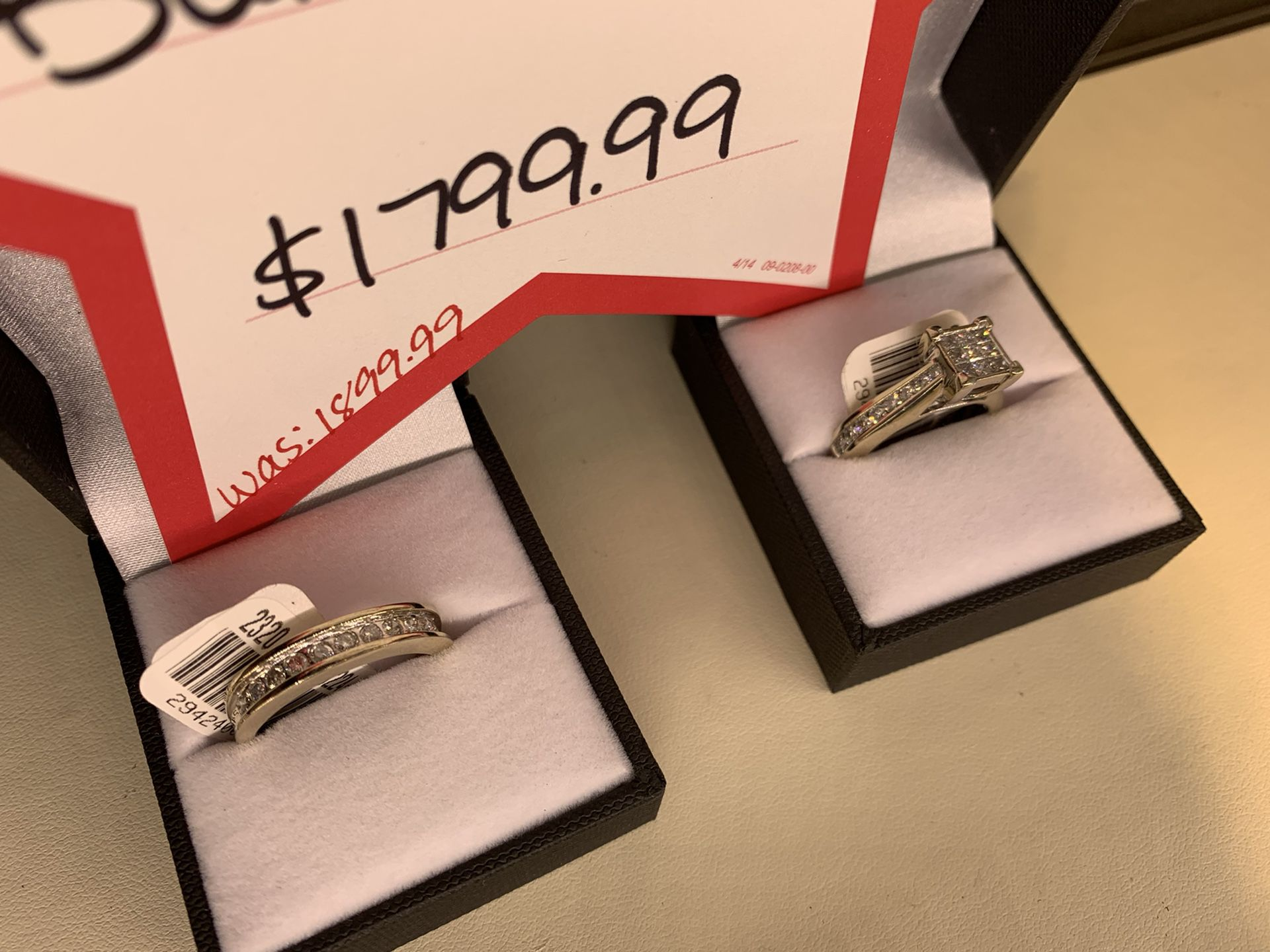 14K & 10K Gold Diamond Ring Set Bundle Was $1999 Now Only $1799 Ask For Chris