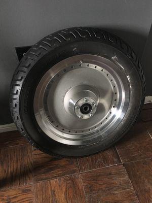 Harley Davidson Fat Boy front wheel & tire for Sale in Alexandria, VA