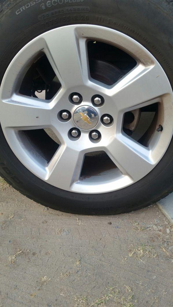 20 Inch Chevy Silverado Rims For Sale In El Cajon Ca Offerup