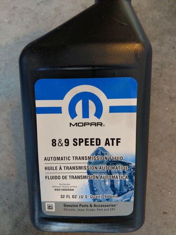 Mopar 8&9 speed ATF 68218925aa for Sale in Tonopah, AZ - OfferUp
