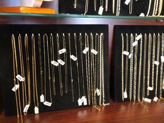 Gold Chains 14k 18k 10k Thumbnail