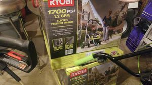 Ryobi 1700 psi pressure washer used once for Sale in Highlands Ranch, CO