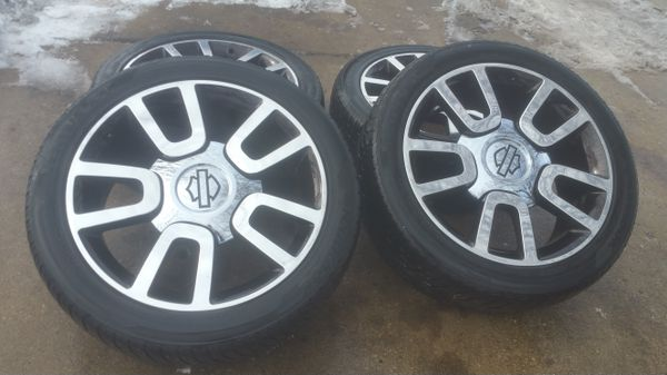 Used Harley Davidson Wheels >> 22 Ford F 150 Harley Davidson Stock Wheels Tires For Sale In Bolingbrook Il Offerup