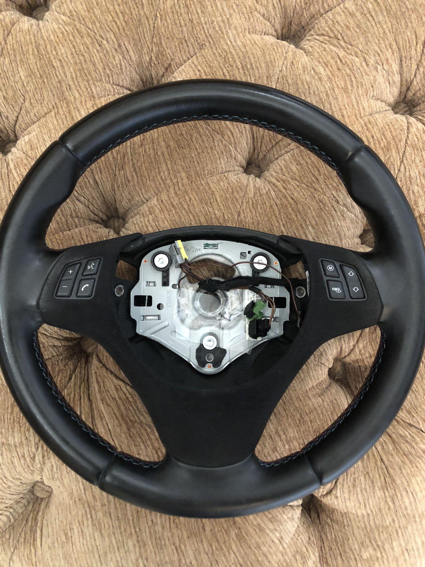 OEM BMW E9x Steering Wheel