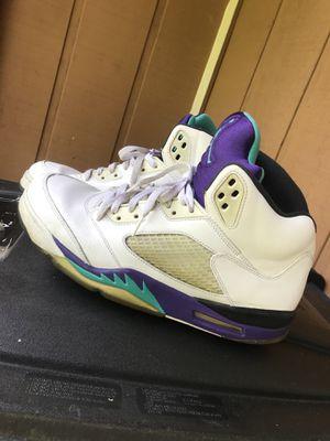 "Jordan 5 ""grape"" size 12 for Sale in Upper Marlboro, MD"