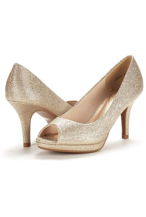 Gold Glitter Heels for Sale in Indianapolis, IN