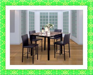 High dining table with chairs free shipping for Sale in Fairfax, VA