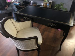 BODART solid wood desk and chair for Sale in Rockville, MD