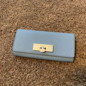 Michael Kors Sky Blue Leather Callie Wallet for Sale in Irvine 299183c8e124c