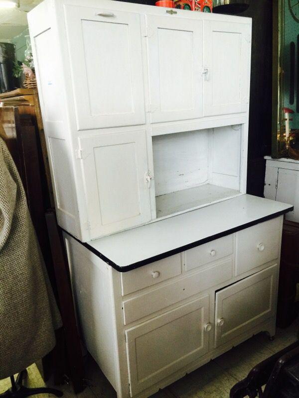 Antique Quaker Maid Hoosier Cabinet