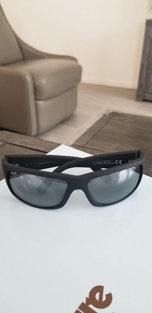 9d67445e26a Maui Jim World Cup Matte Black Rubber World Cup Polarized Sunglasses ...