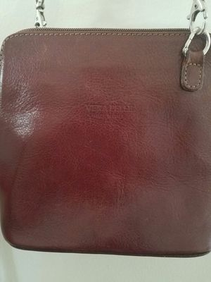 Vera Pelle Mini Genuine Soft Italian leather Shoulder Cross Body Handbag for Sale in Columbus, OH