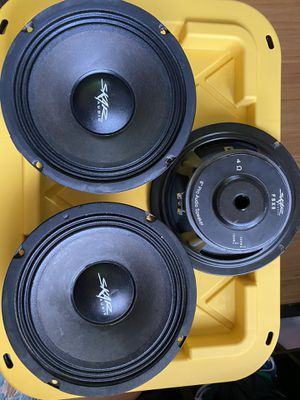 "Photo SKAR FSX8 8"" Pro Audio Speakers"
