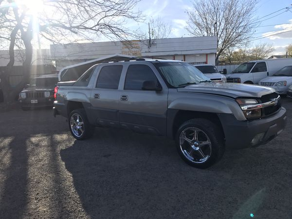 2002 Chevy Avalanche Z71 4x4 For Sale In Odessa Tx Offerup