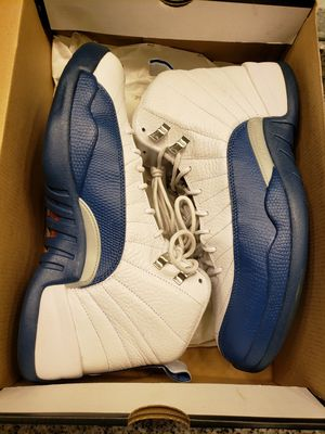 Jordan 12 French blue size 10.5 for Sale in Fort Washington, MD