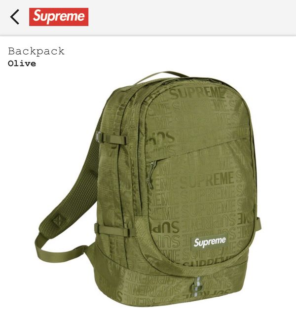 c5903d42b New and Used Supreme backpack for Sale in Arlington Heights, IL ...