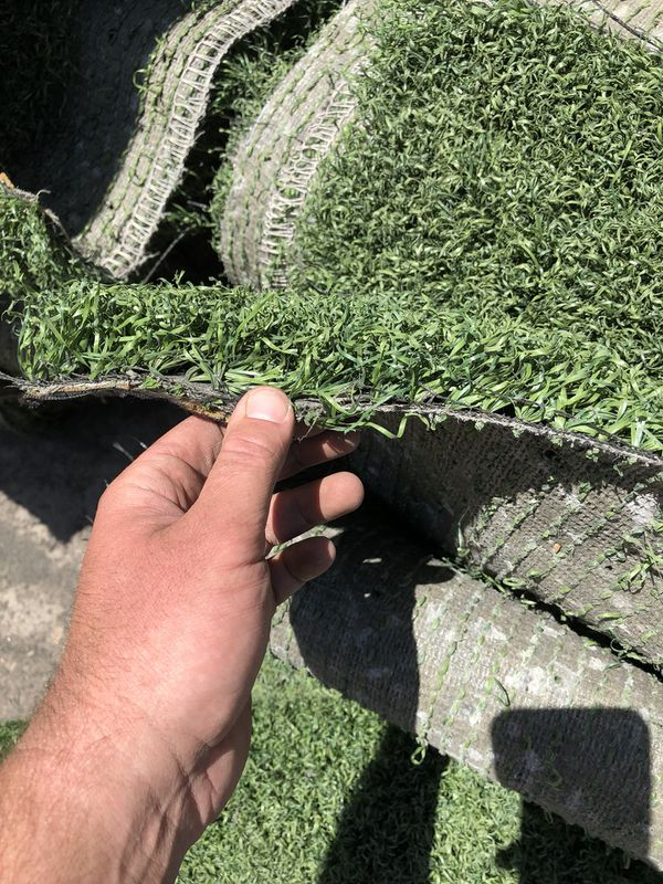 280 sq ft artificial grass rolls for sale!!! Used turf! 50 Available ! for  Sale in Tucson, AZ - OfferUp