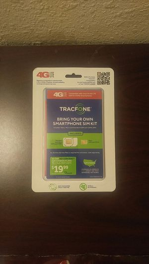 Tracfone Sim Card for Sale in Oklahoma City, OK - OfferUp