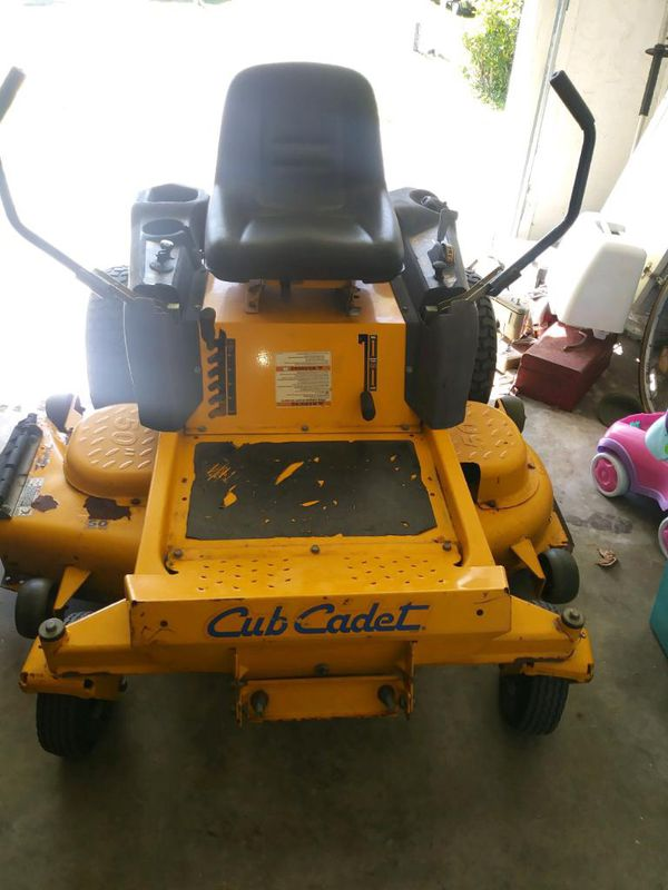 Cub Cadet 50 Inch Lawnmower For Sale In Stuart Fl Offerup