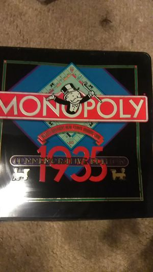 Monopoly Parker Brothers real estate trading game limited Commemorative Edition 1935 for Sale in Gaithersburg, MD