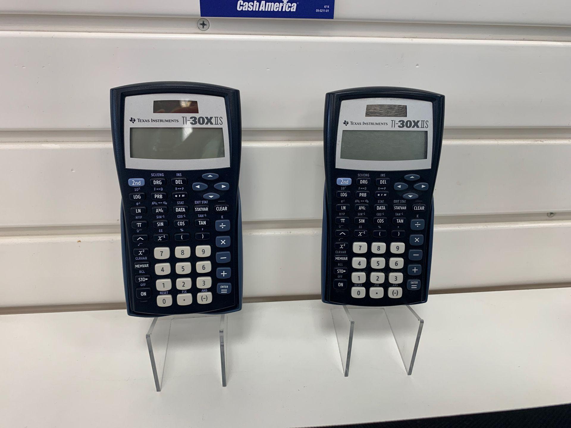 TI -30 Texas Calculator