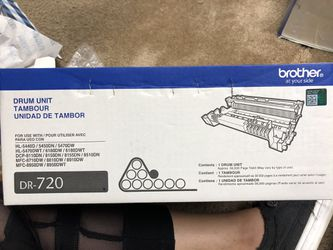Brother Printer Black Toner DR-720 Thumbnail
