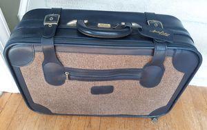 Vintage Amelia Earhart Tweed sided Suitcase for Sale in Raleigh, NC