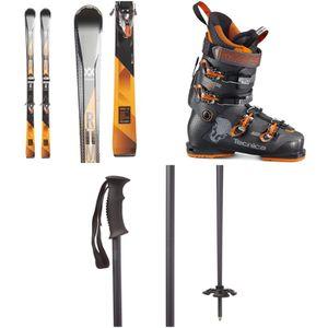 Brand new Volkl RTM 81 Skis + iPT Wide Ride 12.0 Bindings + evo Send'r Ski Poles for Sale in Portland, OR