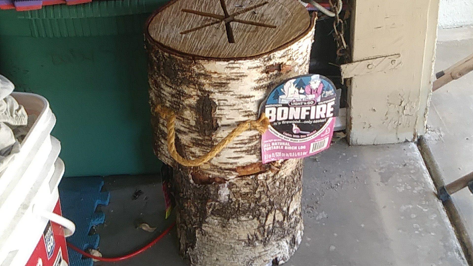 Bonfire logs