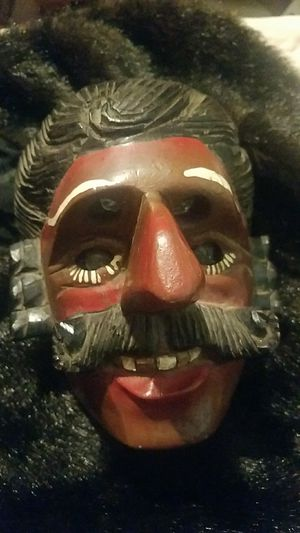 Hand Carved/Painted Antique Theater Mask for Sale in Fairfax, VA