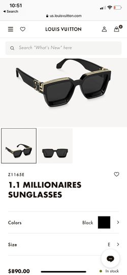 Louis Vuitton Hologram glasses Thumbnail