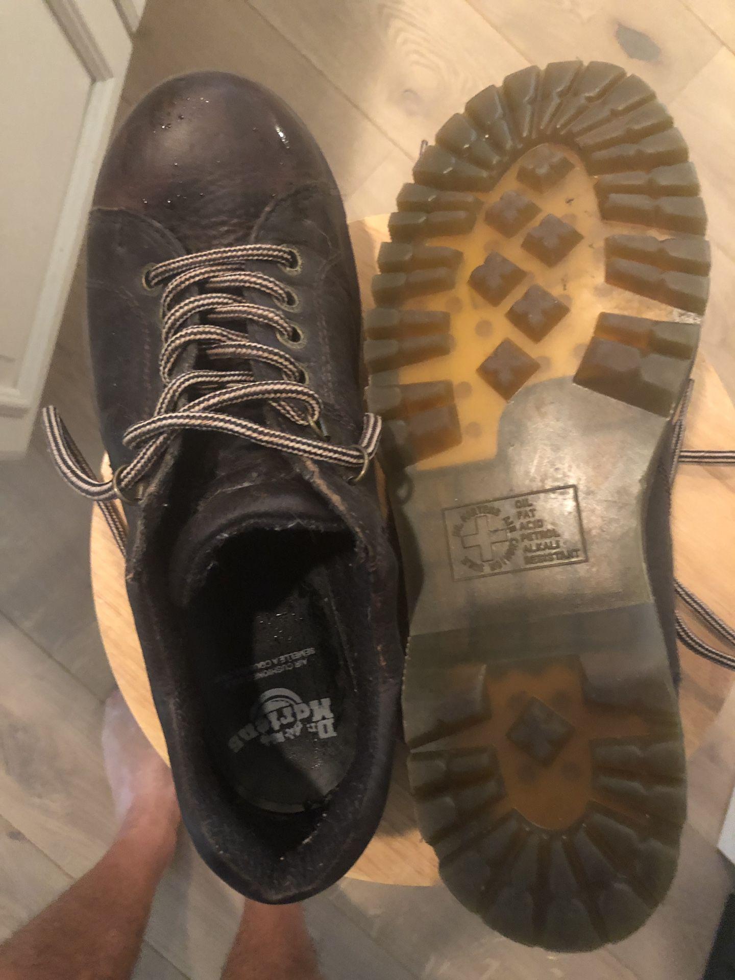 Doc Martin men's shoes. Size 10