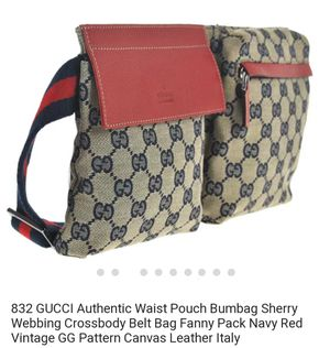 b84445fdd350fd Authentic Vintage GG Monogram Gucci bumbag Fanny pack for Sale in Orlando,  FL