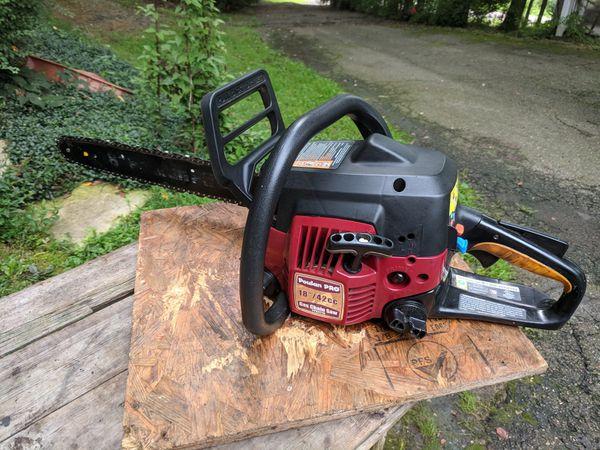 Poulan Pro gas chainsaw PPB4218 42cc 18