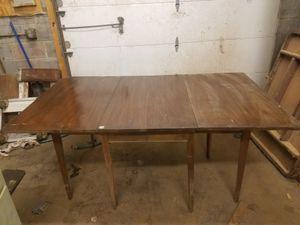 Hinkle Harris mahogany drop leaf dining table for Sale in Manassas, VA
