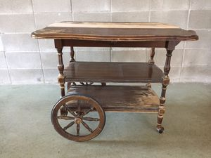 Vintage rolling bar table for Sale in Austin, TX