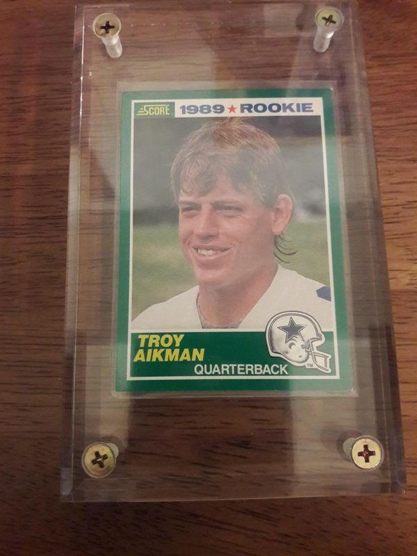 c5e64718c9b Dallas Cowboys Troy Aikman Rookie Card for Sale in Irving, TX - OfferUp
