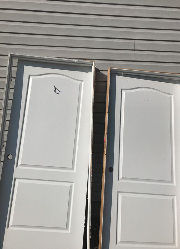 2 Interior Doors 36 Wide 80 Inch Tall Frame Also 30 Each For Sale