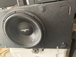 Photo Skar audio subwoofer 15""