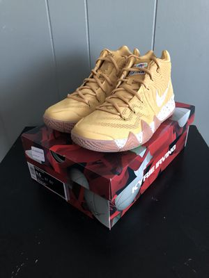 timeless design 26158 395c2 Sz 9.5 Nike Kyrie 4 Cinnamon Toast Crunch for Sale in Daly City, CA -  OfferUp