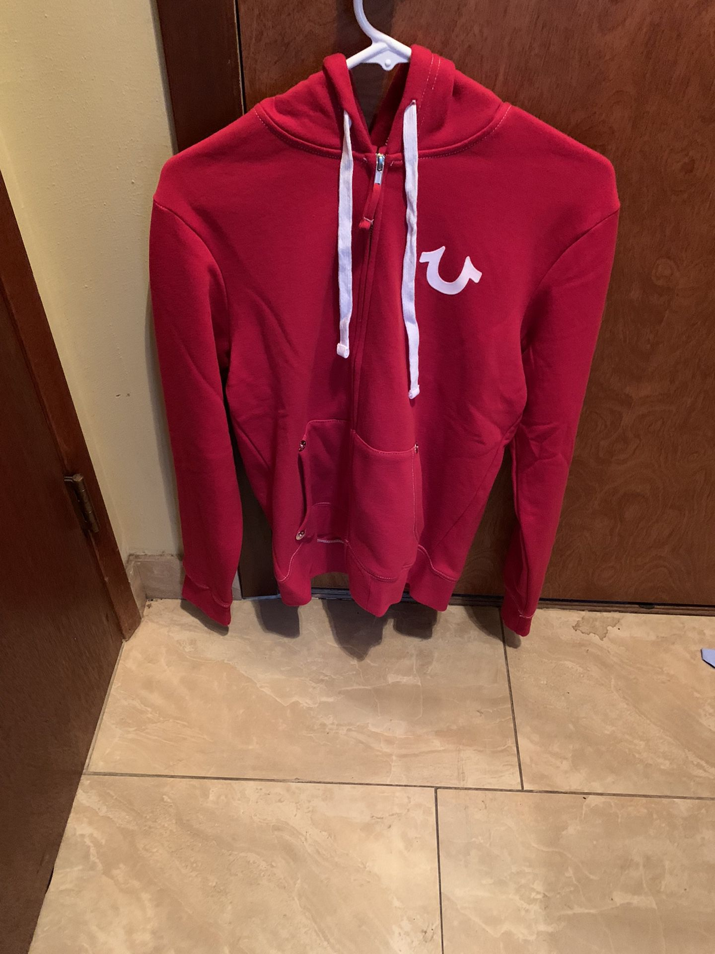 True Religion Zip Up Sweater