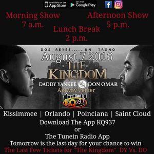 Daddy Yankee vs Don Omar Ticket for Sale in Orlando, FL