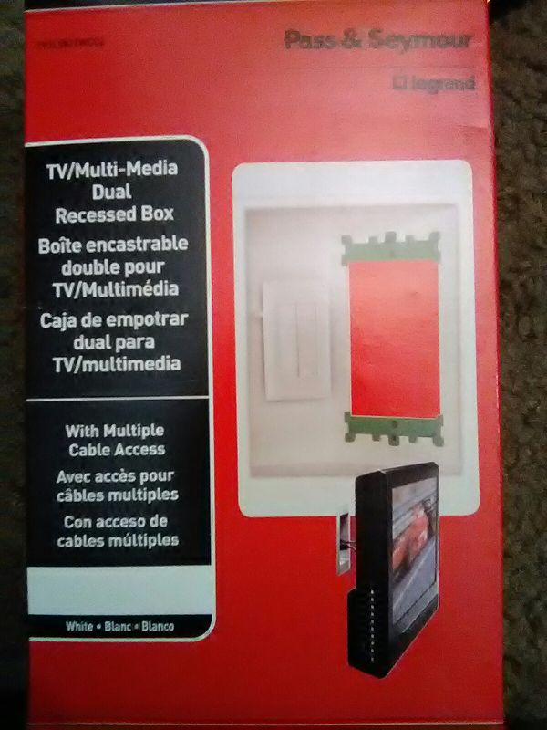 Sensational Tv Recessed Wiring Box For Sale In Las Vegas Nv Offerup Wiring Database Gramgelartorg