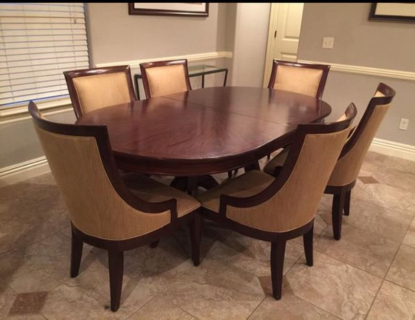 Stunning BERNHARDT Martha Stewart Opal Point Whitney Double Pedestal Dining  Table 104-244P for Sale in Rogers, AR - OfferUp