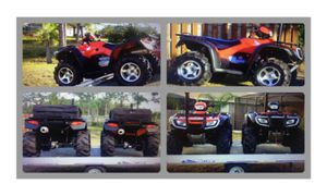 2X 2006 Honda rubicon Triton ATV Trailer for Sale in Arlington, VA