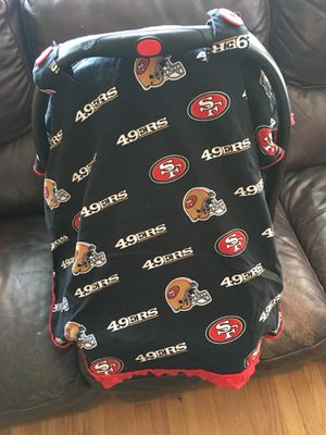 49ers Baby Car Seat Cover For Sale In San Jose CA