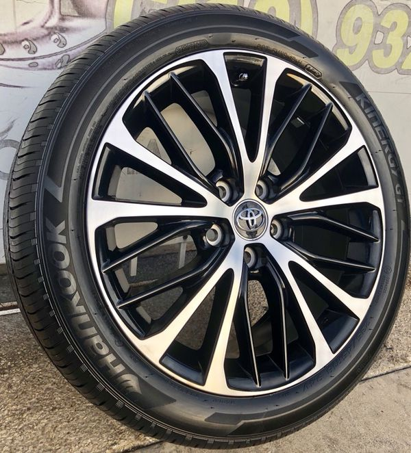 18 Inch Wheels Toyota Rims 18 Inch Tires Hankook Toyota Camry For